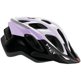 MET Funandgo Helmet purple/black/white metallic